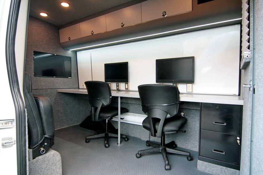 10 Features for Your Mobile Command Center Upfit - HQ Custom