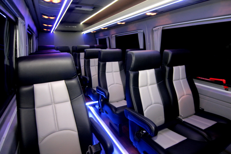 Top 10 Features For Your Shuttle Bus Conversion - HQ Custom