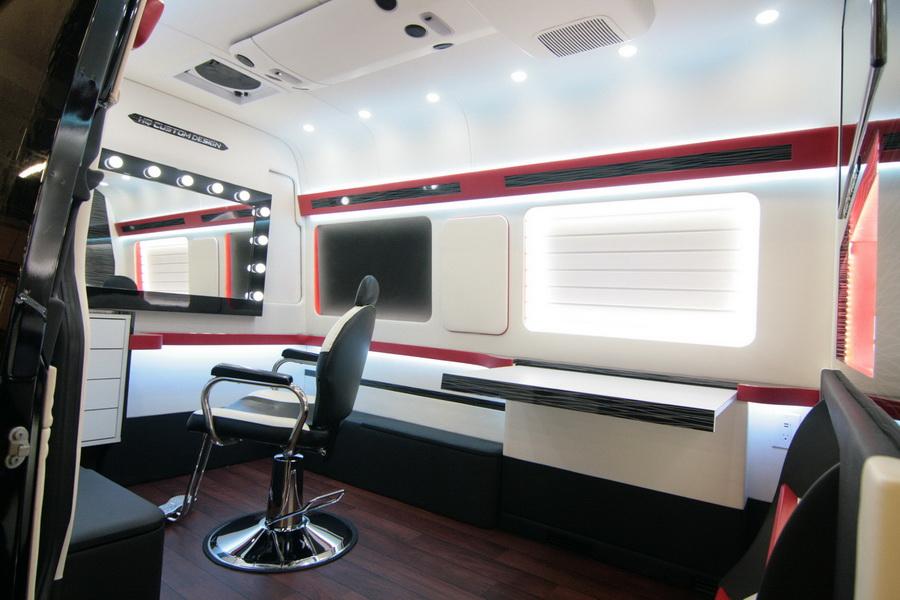 Mobile Hair Salon And Makeup Studio - HQ Custom Design Inc ...
