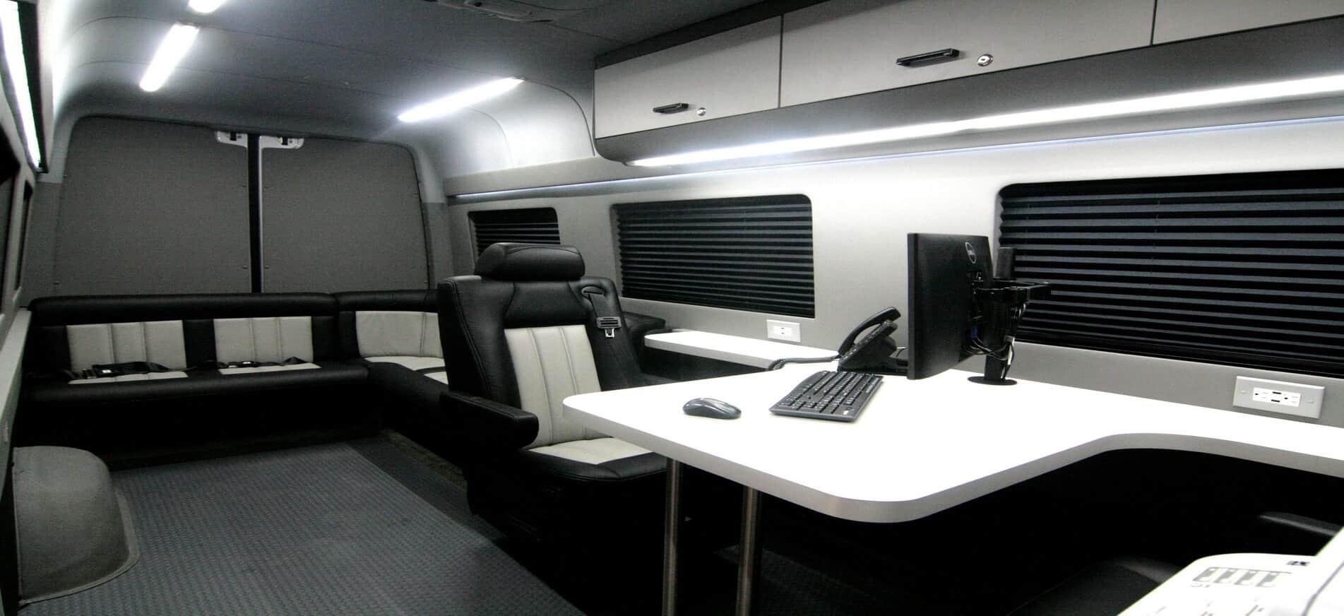 Professional Vehicles - Mobile Offices