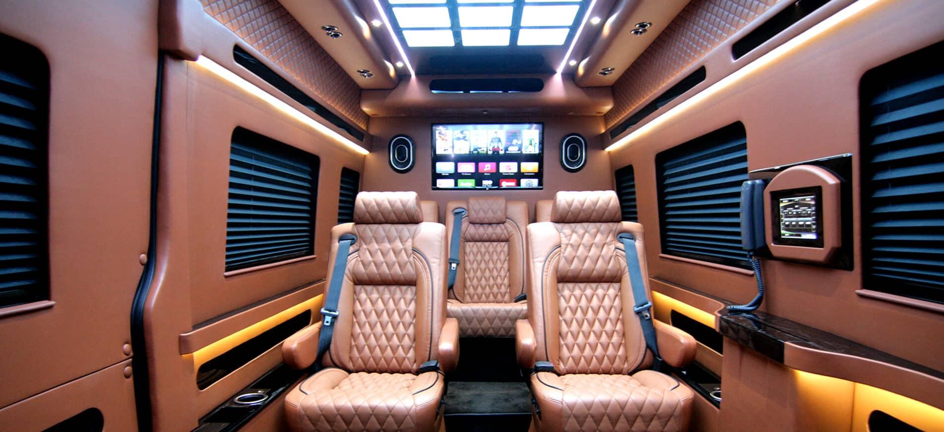 Mercedes Rv For Sale >> Custom Conversion Vans, Sprinters and SUVs | HQ Custom Design
