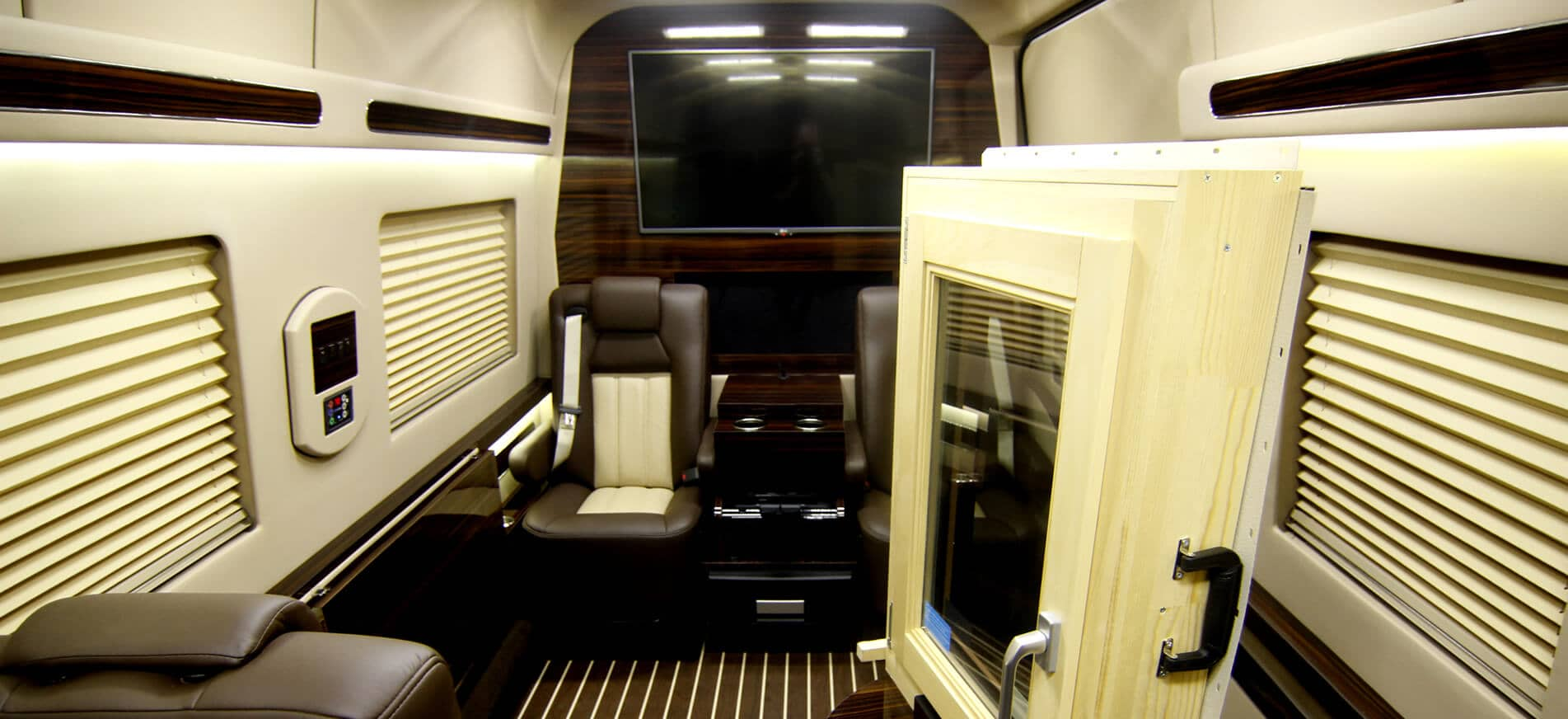 Professional Vehicles - Mobile Showroom