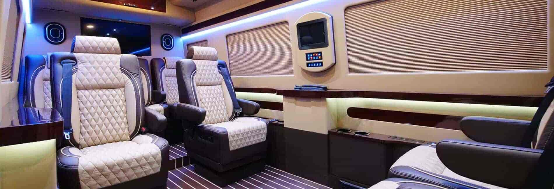 Private Mobile Office Custom Van