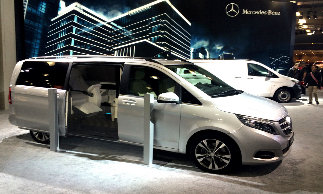 Custom Mercedes Metris Presidential Conversion Vans