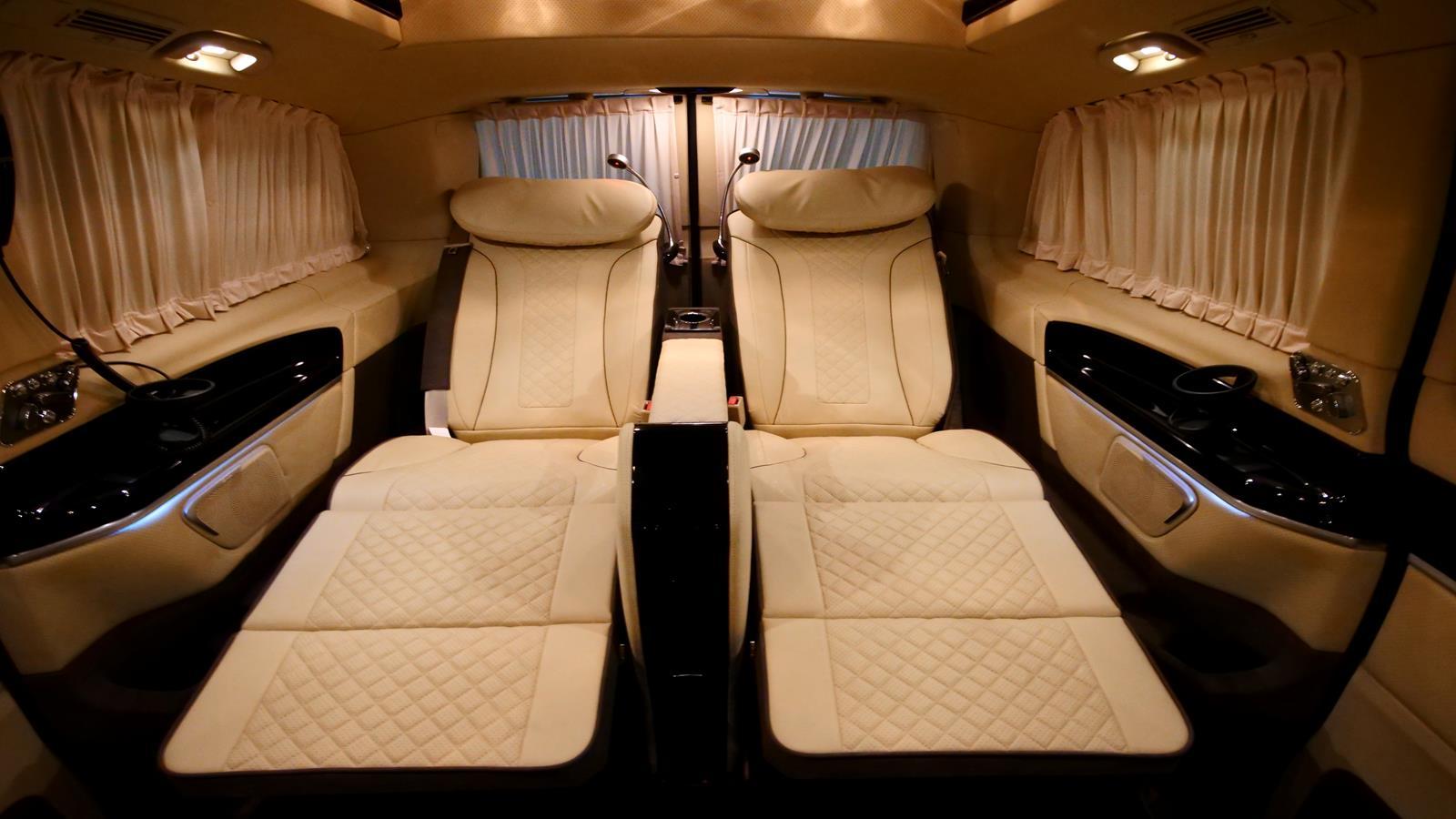Custom Mercedes Metris Presidential Conversion Vans Hq