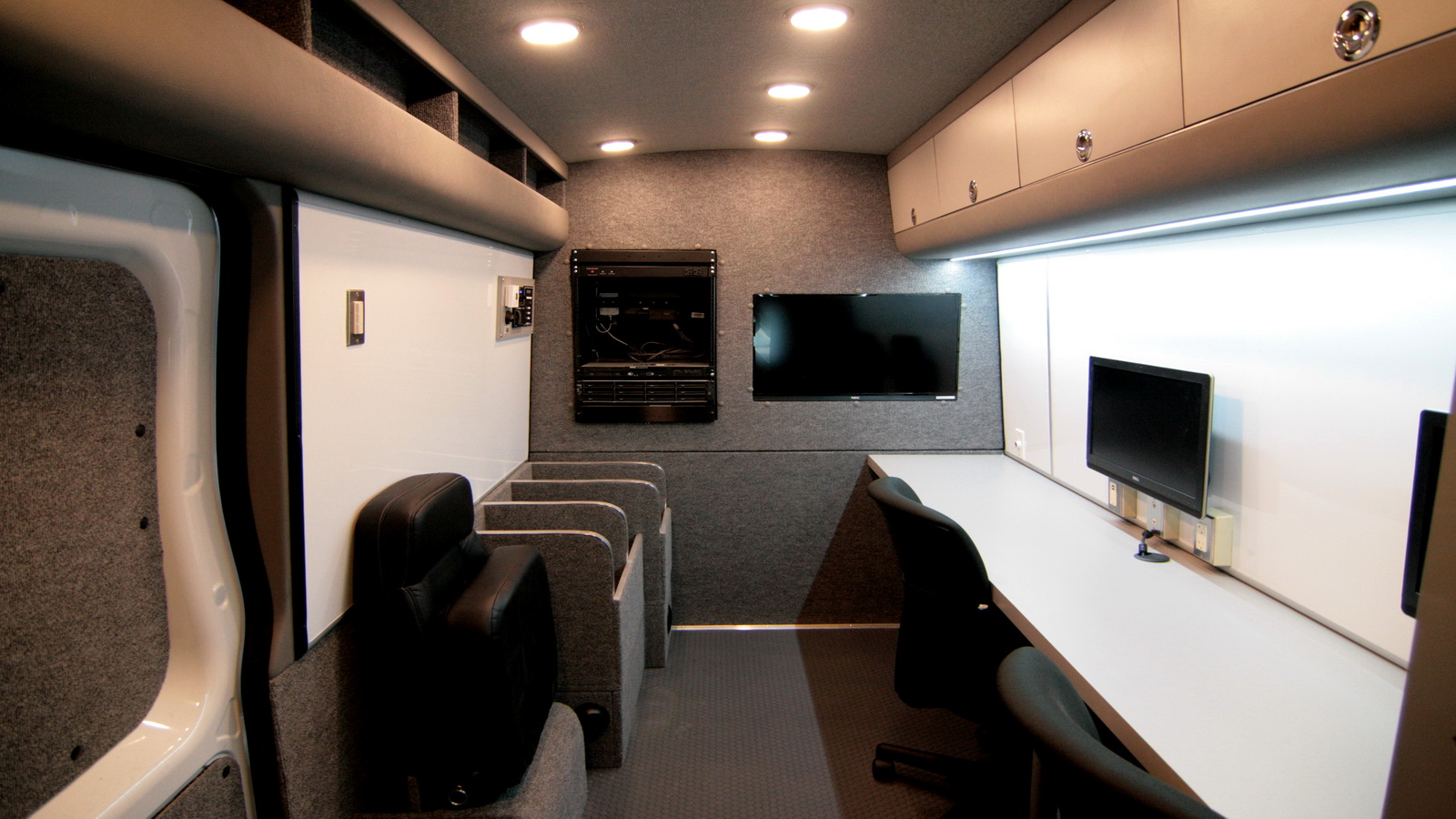 Work Vans For Sale >> Mobile Command Center Conversions Vans | Commercial Vehicles | HQ Custom Design