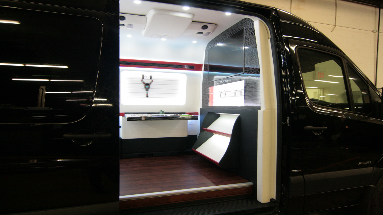 Sprinter Conversion Van >> Mobile Showroom Vans | Custom Commercial Vehicles | HQ Custom Design