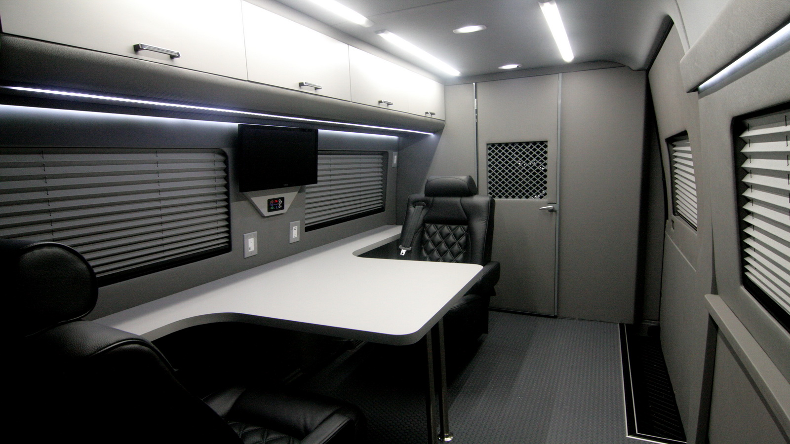 Mobile Office Conversion Vans | HQ Custom Design