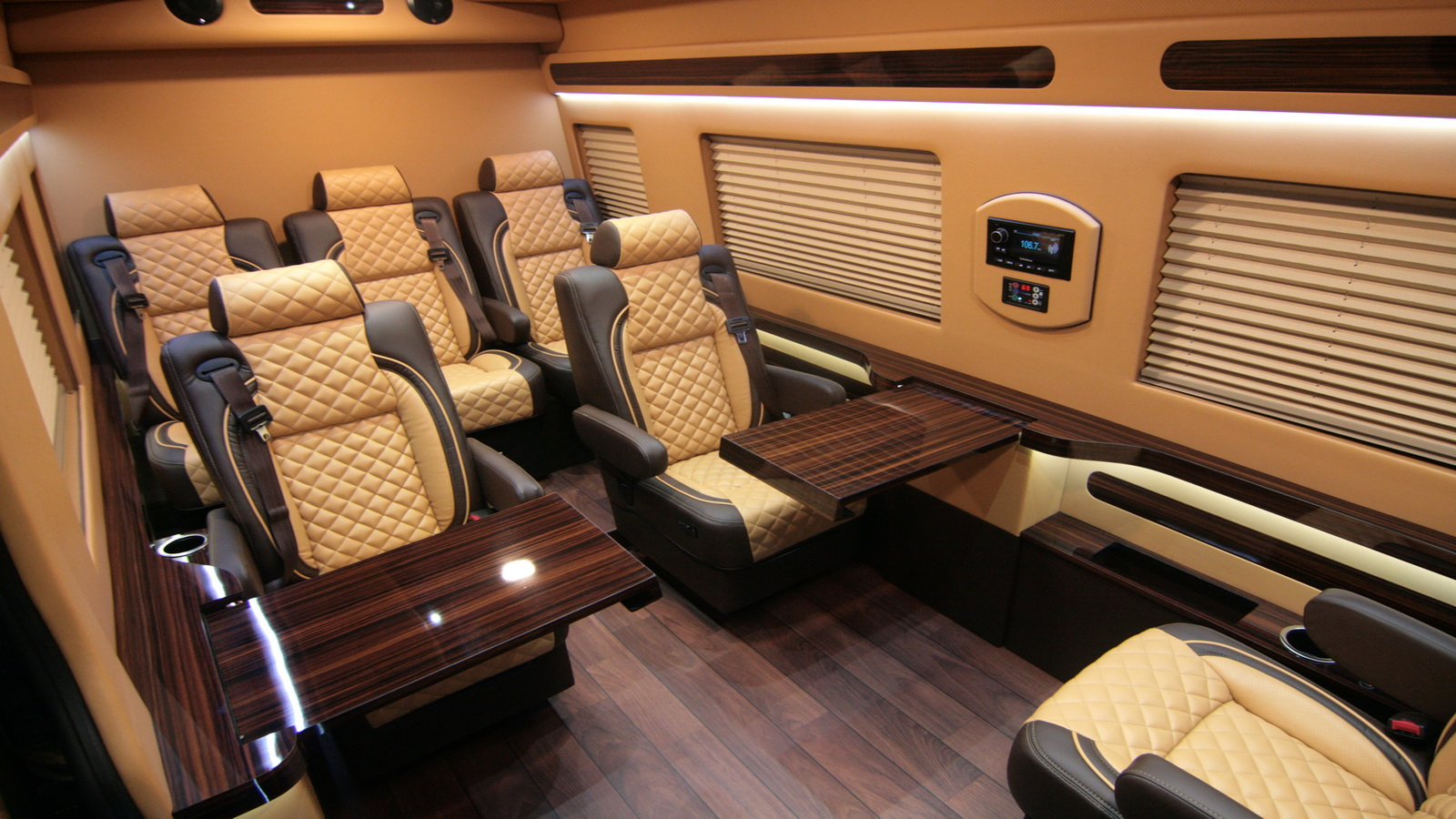 Custom Mercedes Benz Sprinter Executive Edition Conversion