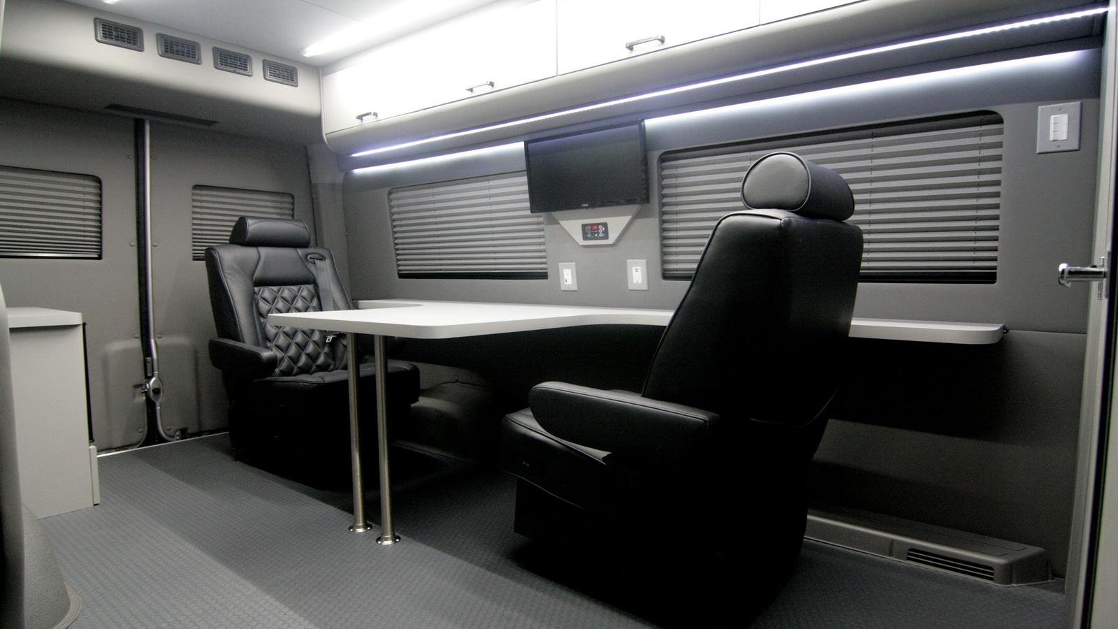 Mercedes Benz Sprinter >> Mobile Office Conversion Vans | HQ Custom Design
