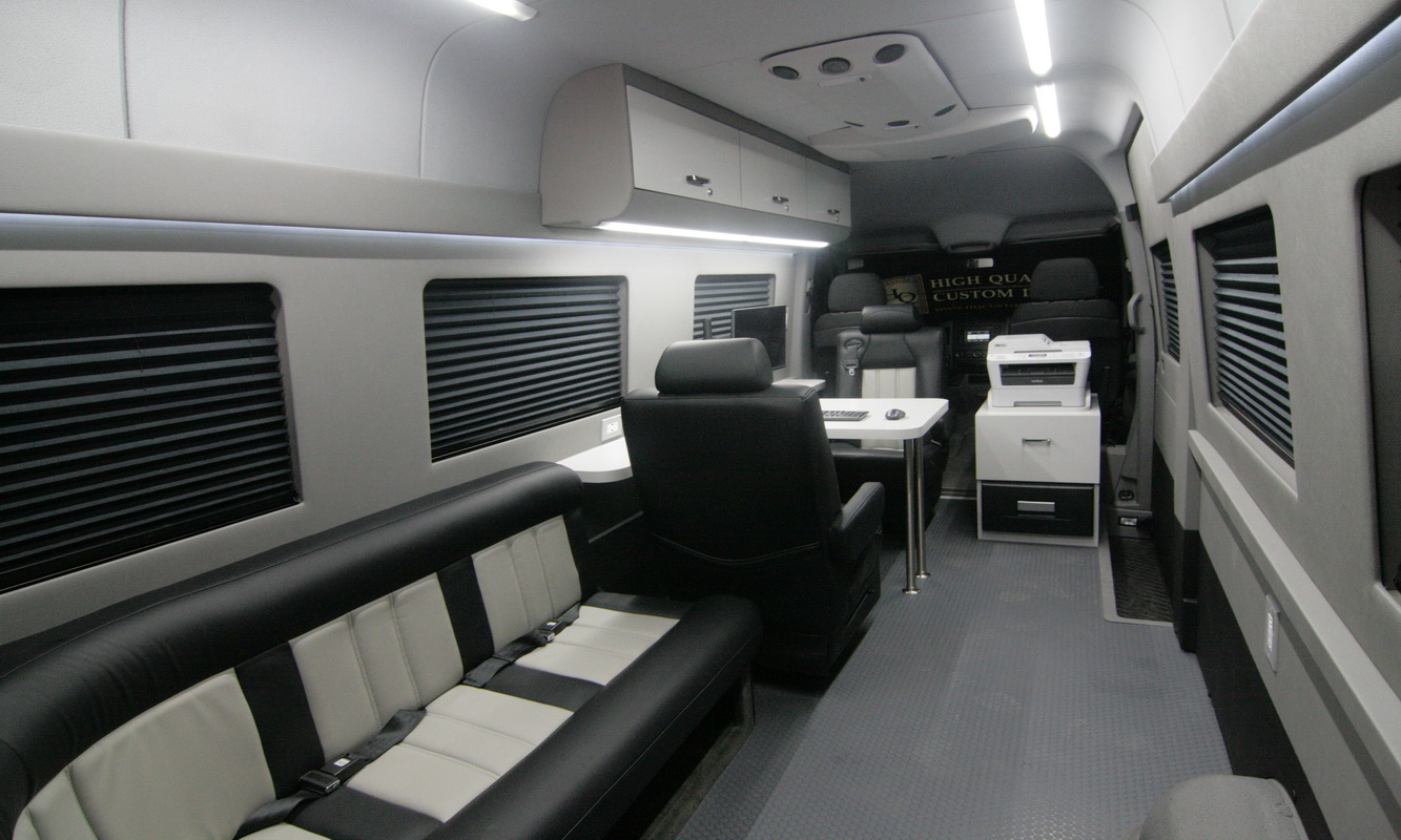 Mobile Office Conversion Vans Hq Custom Design