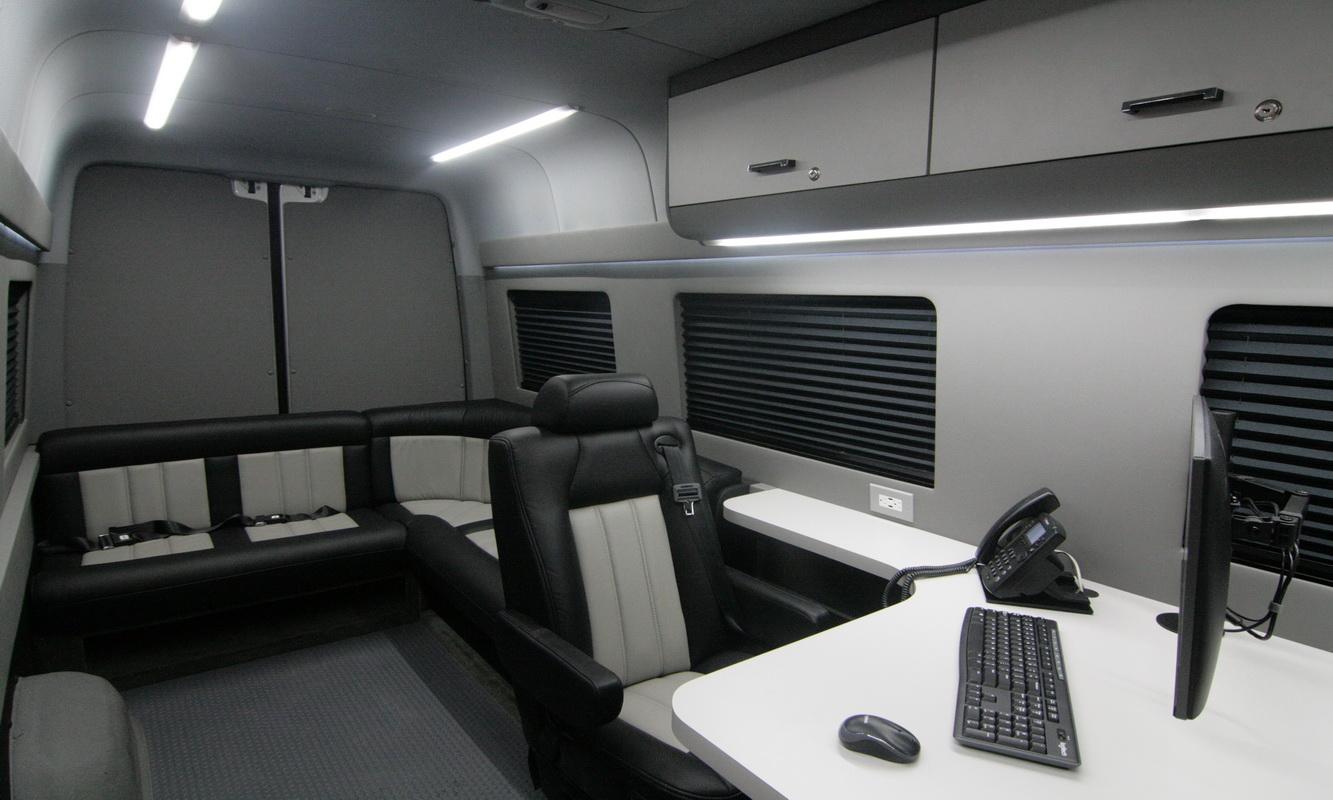 Mobile Office Conversion Vans | HQ Custom Design