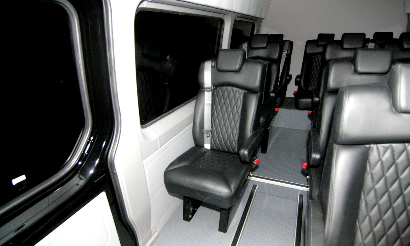 interior led lights shuttle coachliner conversions hq custom design 10140
