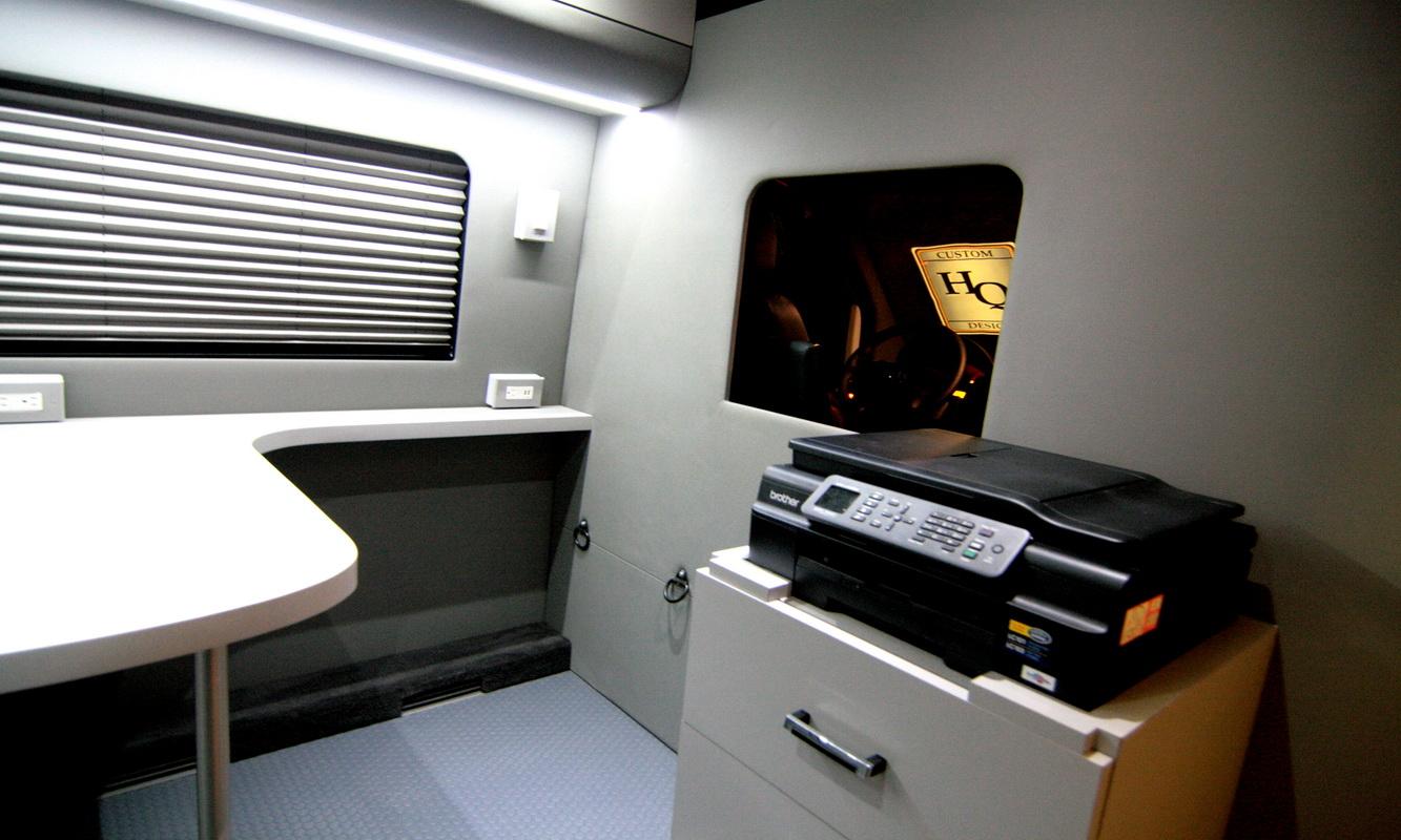 Used Work Vans >> Mobile Office Conversion Vans | HQ Custom Design
