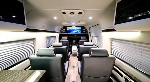 Mercedes Benz Sprinter Interior Rv